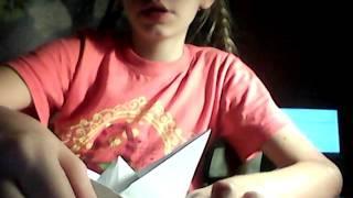 Видео урок 1 оригами кораблик