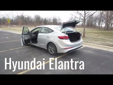 2018 Hyundai Elantra SE Rental Car Review and Test Drive
