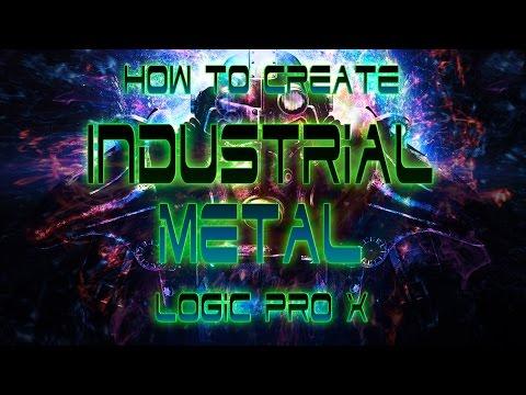 How to Make Industrial Metal Logic Pro Tutorial KMG7 Power Guitars Chords