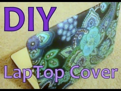 DIY: Laptop Cover/Case (Designer Like) - YouTube