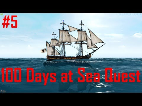 Naval Action: 100 Days at Sea Quest (Jamaica & Caymans)