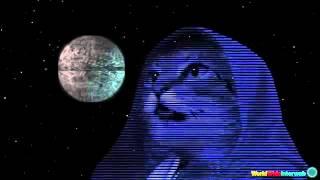 Gato que canta el tema de Star Wars
