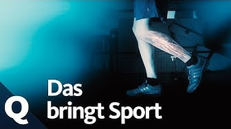 Wundermittel Sport: Körper, Geist und Gene profitieren von Bewegung | Quarks