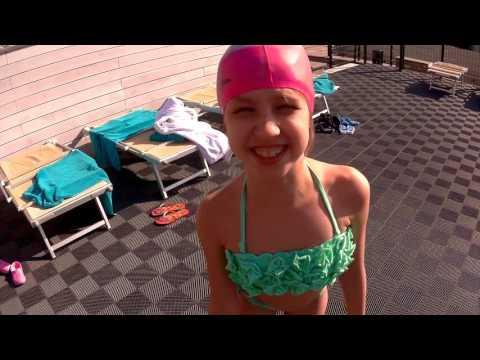 СУПЕР Бассейн ПРОЗРАЧНЫЙ Пол Отдых КАЙФ SUPER Swimming Pool TRANSPARENT Floor Vacation KAYF FOR KIDS