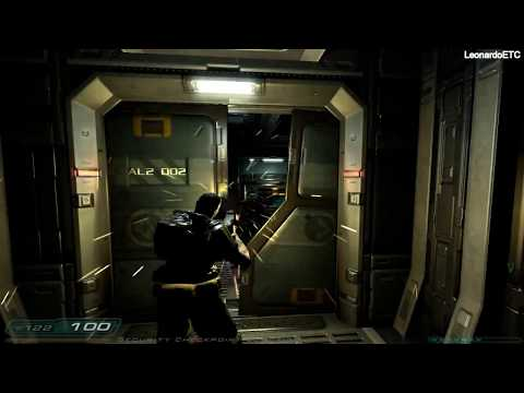 Doom 3 (Third - Person) Walkthrough Part 6 - Alpha Labs 2
