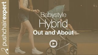 The brand new Hybrid from BabyStyle takes to the city of Leicester