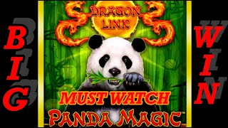 POKIE WINS⚡️ BIG WIN  PANDA MAGIC HOW TO MAKE $50 TO OVER $1000 #Pokiewins#slotmachine#Aussieslots#