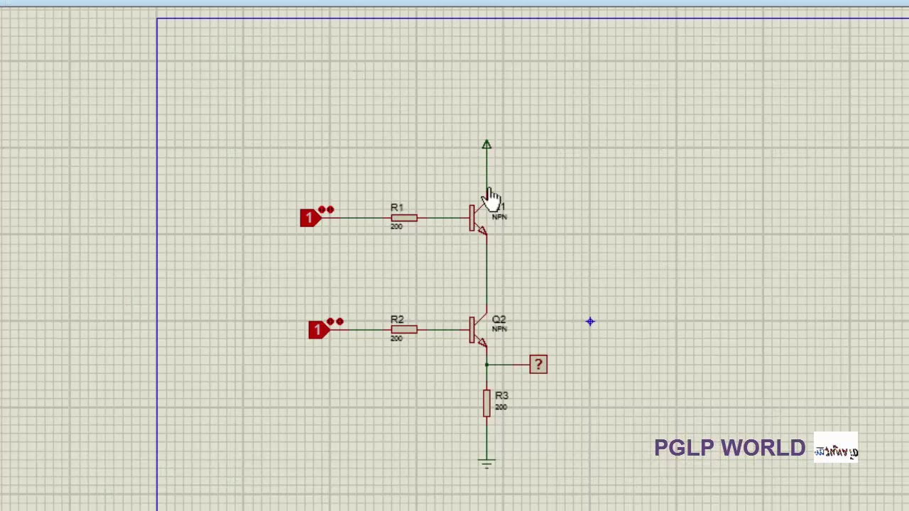 AND and NAND LOGIC Gates using transistor with Simulation Proteus ...
