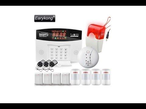 GSM сигнализация на беспроводных датчиках для дома, дачи или гаража