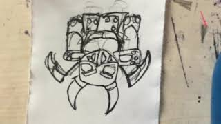 Como Dibujar Kawaii Al Mega Esbirro De Clash Royale How To Draw From