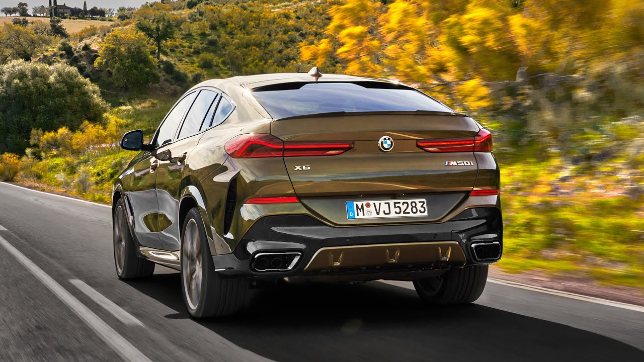 The All-New 2020 BMW X6 - Exterior, Interior and Sound ...