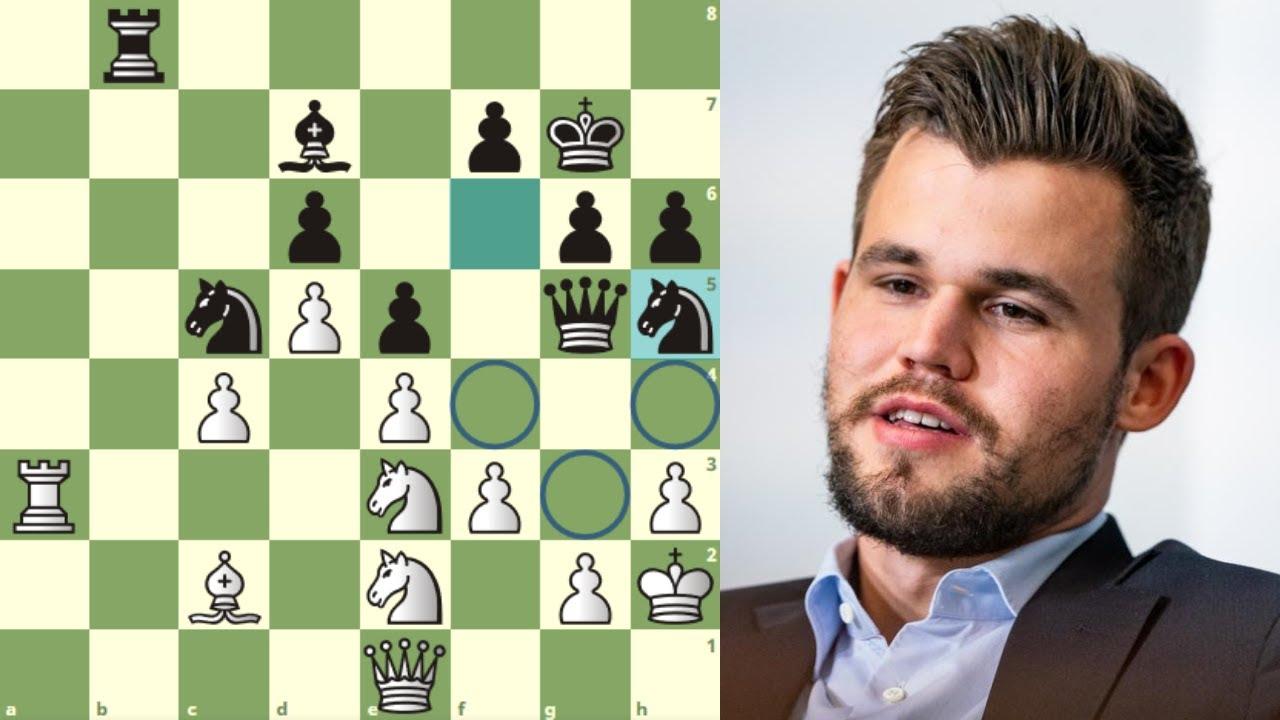 LA SIGUE, LA CONSIGUE, Y SE METE EN LA FINAL: Ding Liren vs Carlsen (Chessable Masters, 2020)