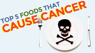 Top 5 foods that can contribute to cause cancer and  that can contribute to trigger hair loss