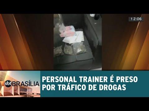 Personal trainer é preso por tráfico de drogas | SBT Brasília 11/09/2018