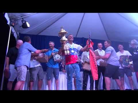 Highlights from Day 5 of Finn World Masters in Barbados - Medal race and Prizegiving