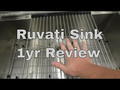 Ruvati Sink 1 Year Review
