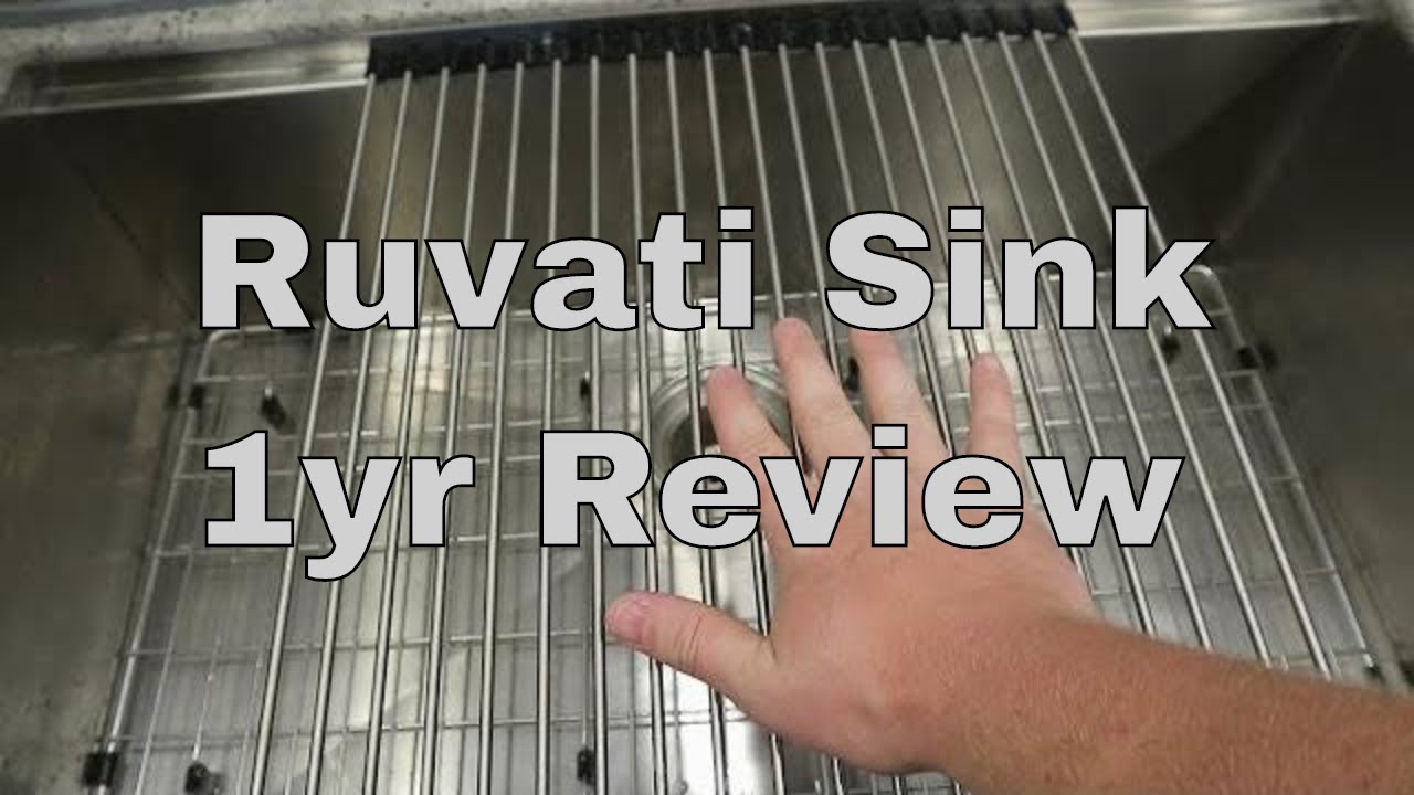 Ruvati Sink 1 Year Review You