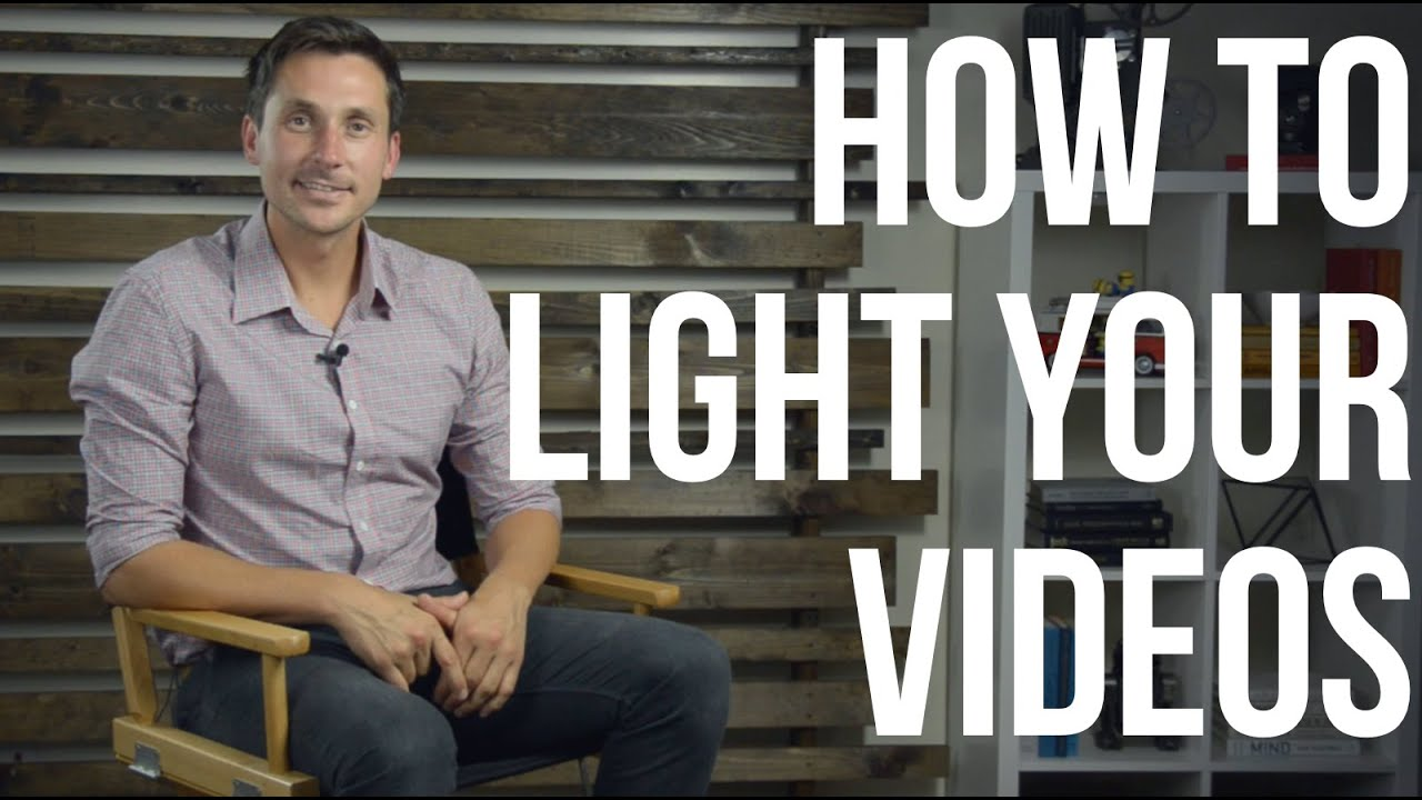 video lighting tutorial how to light your youtube videos