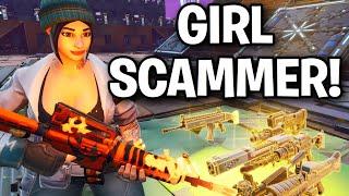 TOXIC RICH GIRL! essayé de me arnaquer! 😱😦 (Scammer Get Scammed) Fortnite Save The World