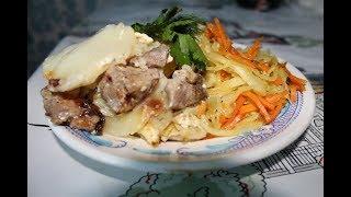 Картошка с мясом в духовке, проще простого