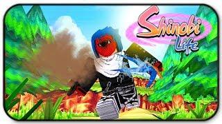 Roblox Shinobi Life 2 New Sand Sword Gameplay
