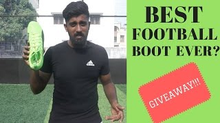 The best football boot | review + giveaway |