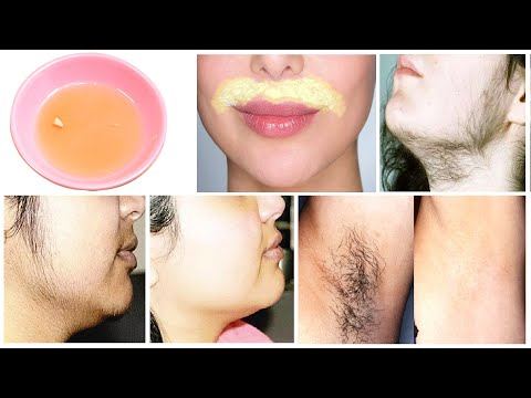 Unwanted Hair Remove Permanently at Home Naturally Tips