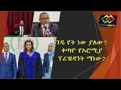 Lemma Megersa And Gedu Andargachew Appointed State Minister
