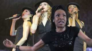 """Drama on Tour with Madonna"" Rehearsal Clip - Siedah Garrett"