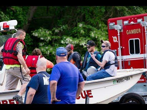 Three People Rescued | Liberty Reservoir | Eldersburg