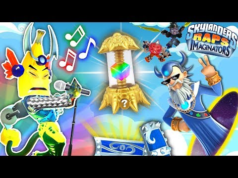 Skylanders Imaginators Music Video 🎶 YES YOU CAN MAKE THAT!   Skylander Boy and Girl Song