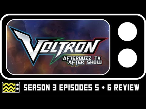 Voltron Legendary Defender Season 3 Episodes 5 & 6  w Josh Keaton  AfterBuzz TV