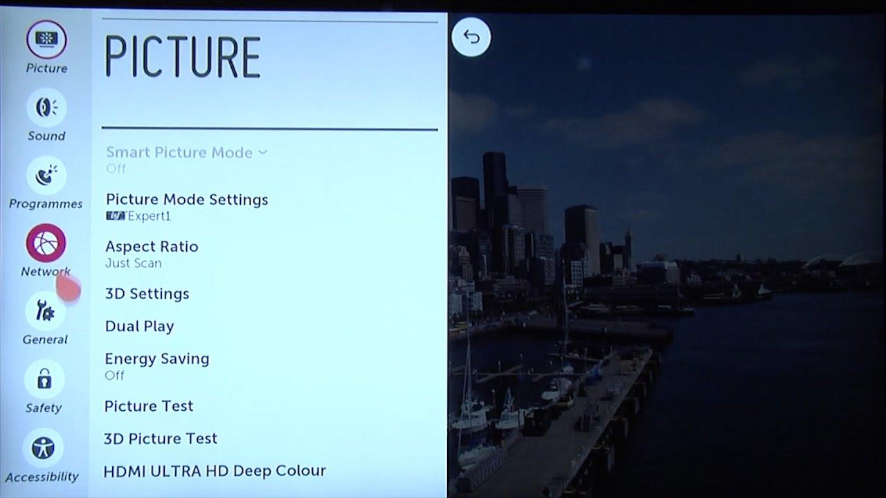lg smart tv settings. lg smart tv settings