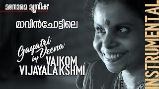 Mavin Chottile film song on Gayathri Veena by Vaikom Vijayalakshmi
