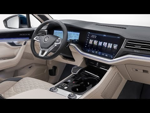 All-new 2019 Volkswagen Touareg 3 R-Line Exterior Interior - Ready To Fight BMW X5