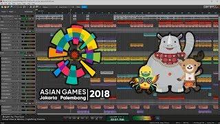 Bright As The Sun ( Ginan Nanz Remix ) [ Asian Games 2018 Official Song ]