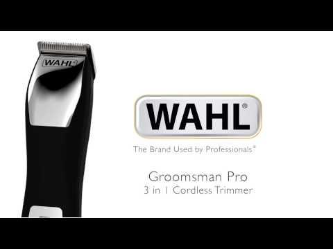 Wahl Groomsman Pro Hair Trimmer