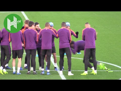Manchester City v Shakhtar Donetsk | Manchester City train ahead of crucial Champions League clash