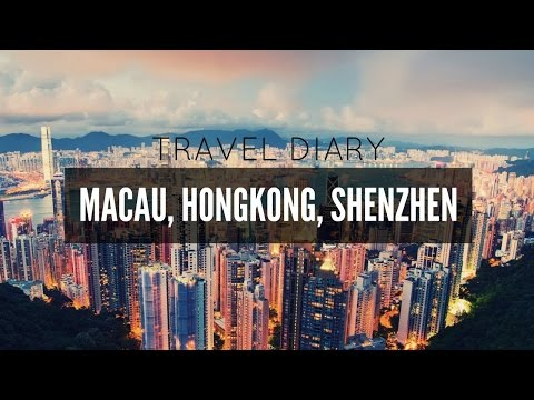 TRAVEL VLOG || Macau, Shenzhen, Hongkong!