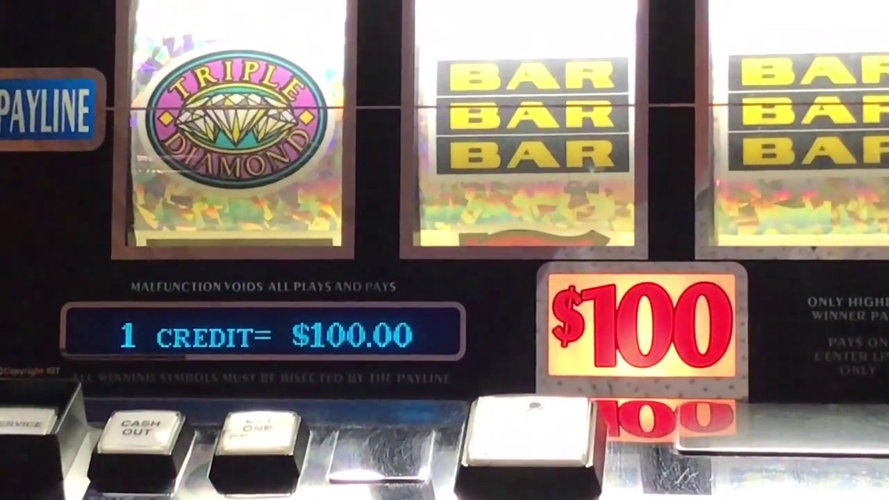 Diamond Jackpots Slot Machine