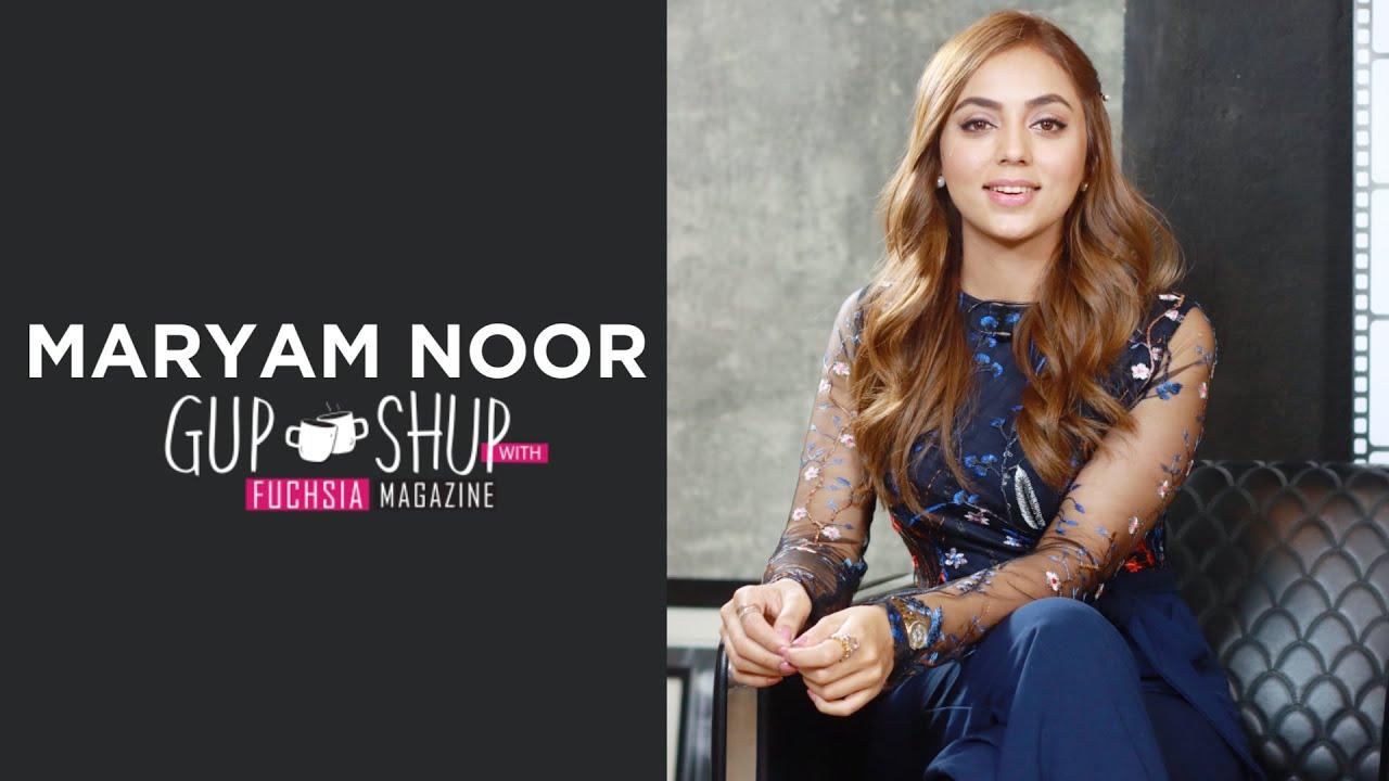 Maryam Noor | Shehnai | Ishq Jalebi | Gup Shup with FUCHSIA