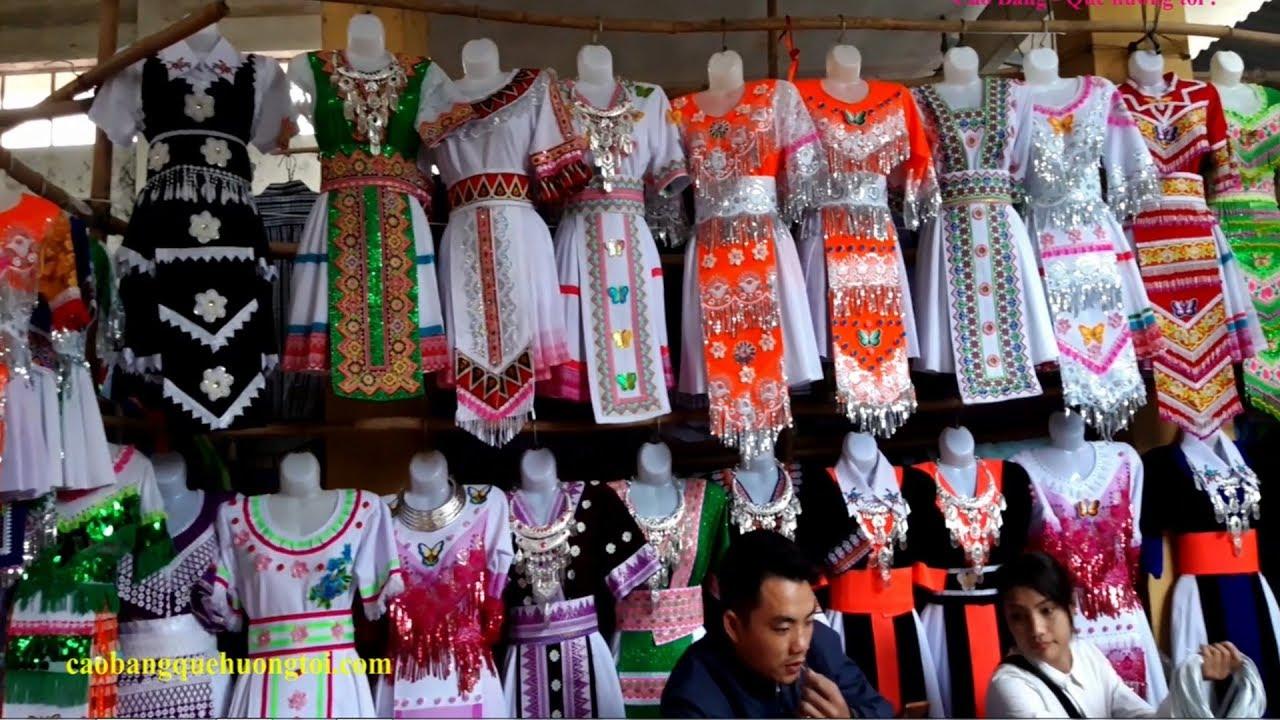 Kiếm Vài Triệu Mỗi Ngày Nhờ Bán Đồ Thổ Cẩm Và Váy Dân Tộc HMông Ở Bảo Lâm Cao Bằng