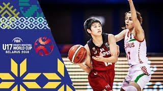 Belarus v Japan - Full Game - FIBA U17 Women's Basketball World Cup 2018