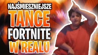 10 FUNNIEST FORTNITE DANCES IN REAL LIFE 😂