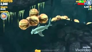 Como matar o caranguejo de hungry shark