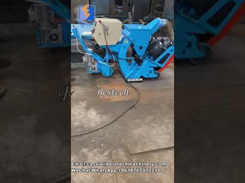 Bridge Deck Mobile Shot Blasting Machine