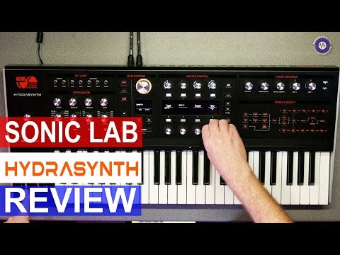 Hail Hydrasynth - Sonic LAB Review