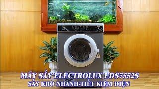 Tại sao nên sử dụng máy sấy quần áo Electrolux EDS7552S-7.5kg