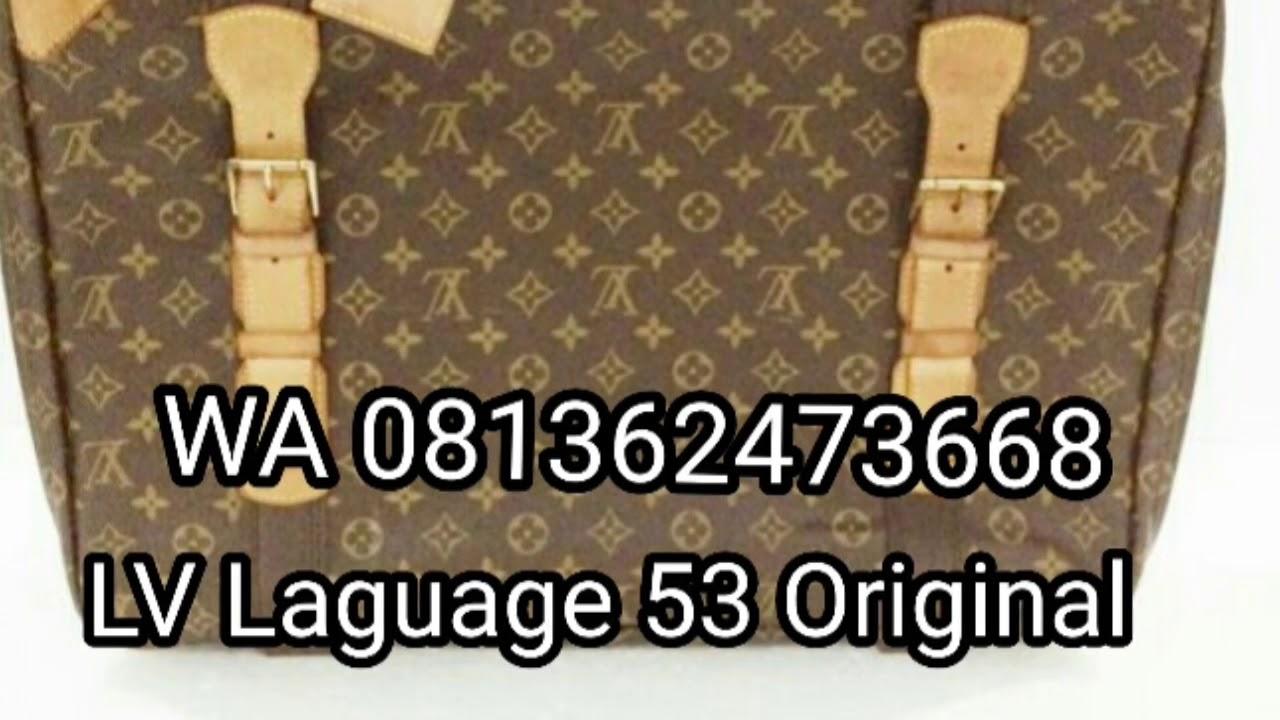 Sale PROMO MURAH BRANDED BAG Jual Tas LV Original - YouTube e72781f349