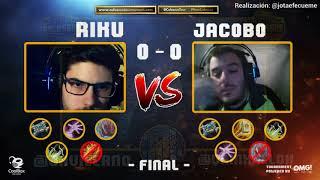 COLOSSUS TOURNAMENT   Jac0b0 vs. Riku   GRAN FINAL   Torneo Hearthstone